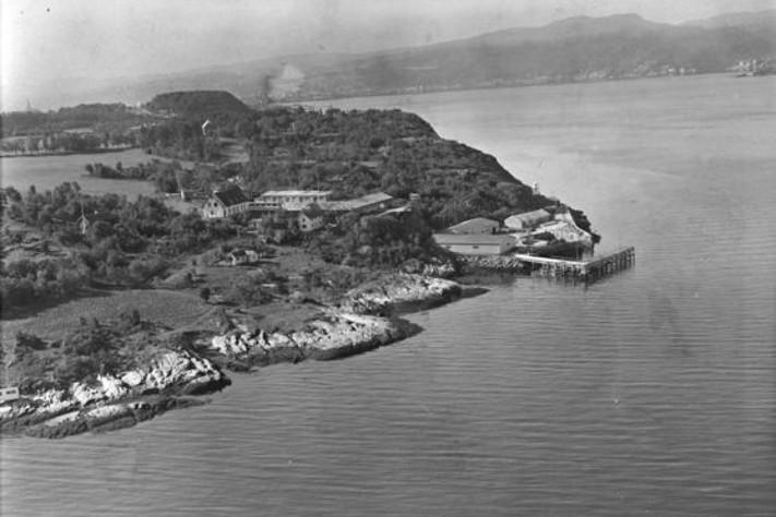 Østmarkneset på Lade, Trondheim, 1948.