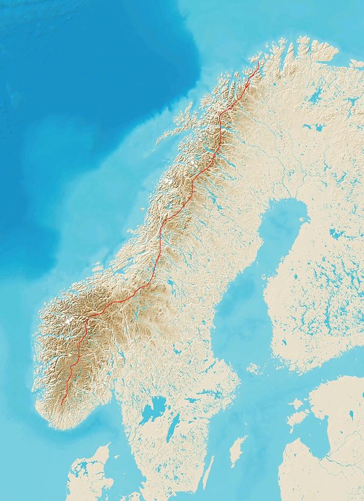 711_Nordryggstien med rute