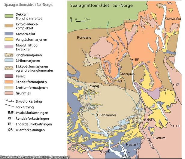 geologisk kart over oslo Geo365 | Gamle bergarter for unge geologer geologisk kart over oslo