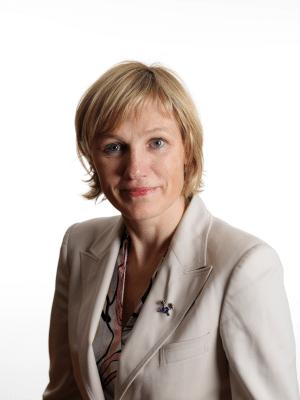 Elisabeth Gammelsæter - Generalsekretær Norsk Bergindustri.  Foto: Norsk Bergindustri