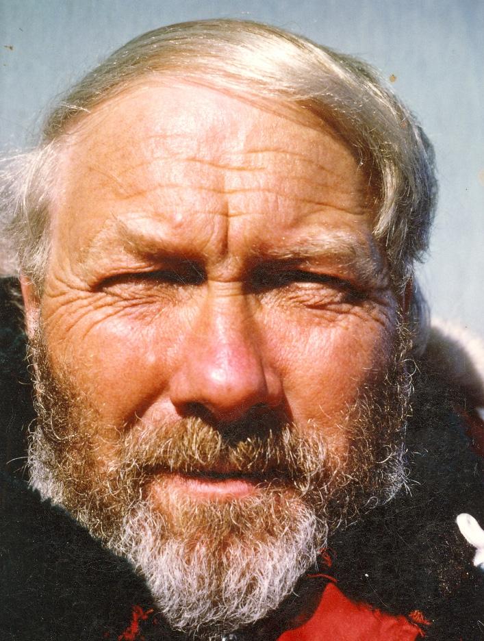 """Bjørn med """"polarforskerskjegg"""" i Antarktis i 1985. Foto: Privat"""