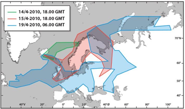 Eyafjallajøkull kartdone