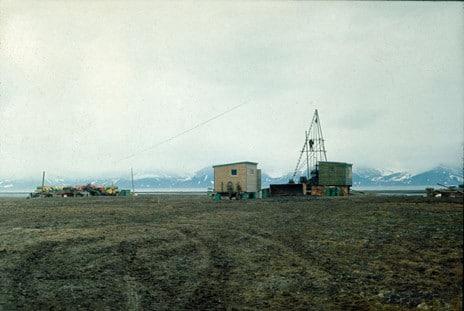4.Boringen i Grønfjorden foregikk over en fem år lang periode, fra 1963 til 1967. Foto: Ivar Ytreland