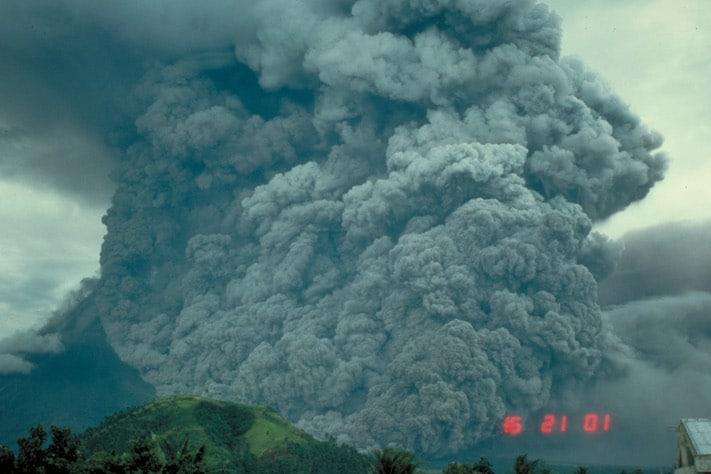 Vi sitter igjen med det inntrykk at utbruddet fra Pinatubo på Filippinene i 1991 var stort, men det vil bare være småtteri mot hva vi kan forvente hvis en supervulkan eksploderer.