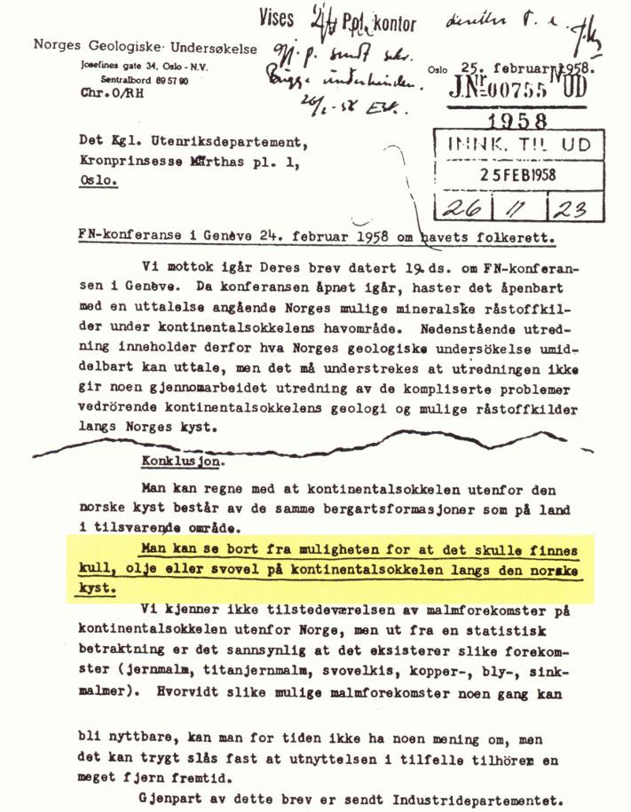 brev til norge