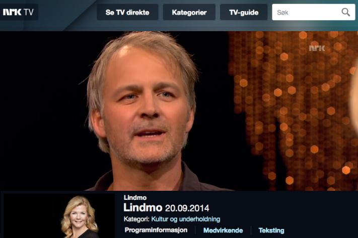 geolog Reidar Müller på NRK TV