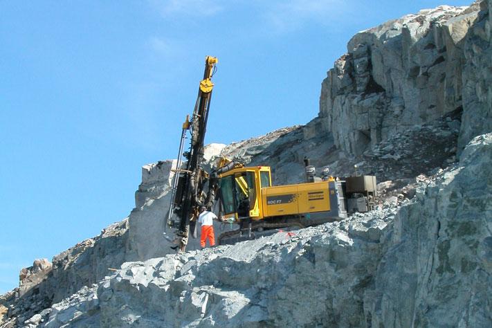 Bergindustrien kan gi mange muligheter, men ifølge Terje Aaland er det helt nødvendig at politikerne kommer med konkretet tiltak. Foto: Halfdan Carstens