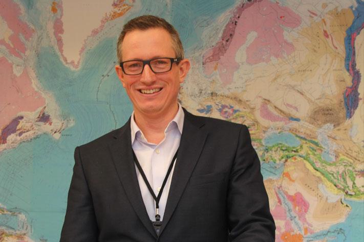 Jez Averty, direktør for Statoils letevirksomhet på norsk sokkel. Foto: Kjetil Visnes