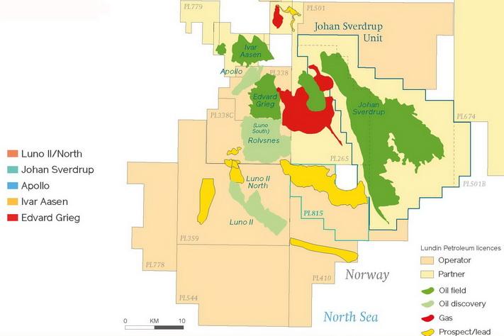 Lundins brønn 16/4-10 testet hydrokarbonpotensialet i Ulaformasjonen av sen jura alder, sør for oljefunnet Luno II (16/4-6), men var tørr.