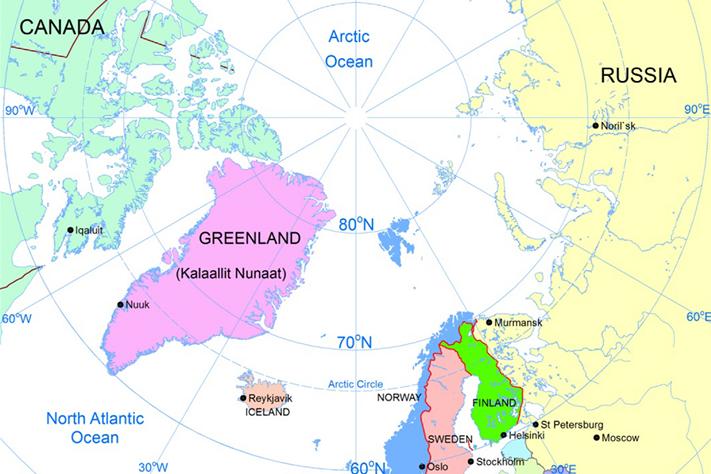 breddegrad kart Geo365 | Ny bok og kart over mineraler breddegrad kart
