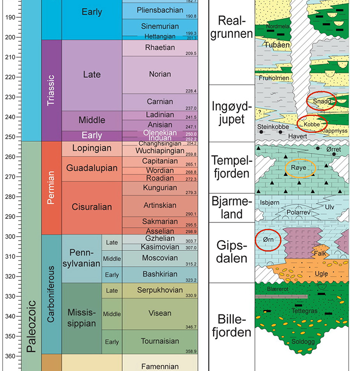 Hensikten med brønnen er å undersøke om det kan være olje og/eller gass i trias sandsteiner i Kobbe- og Snaddformasjonene (ladin alder), samt i karbonater i Ørnformasjonen av nedre perm alder. Sekundære mål er trias (carnian) sandsteineri Snaddformasjonen og øvre perm karbonater i Røyeformasjonen. Kilde: Norlex