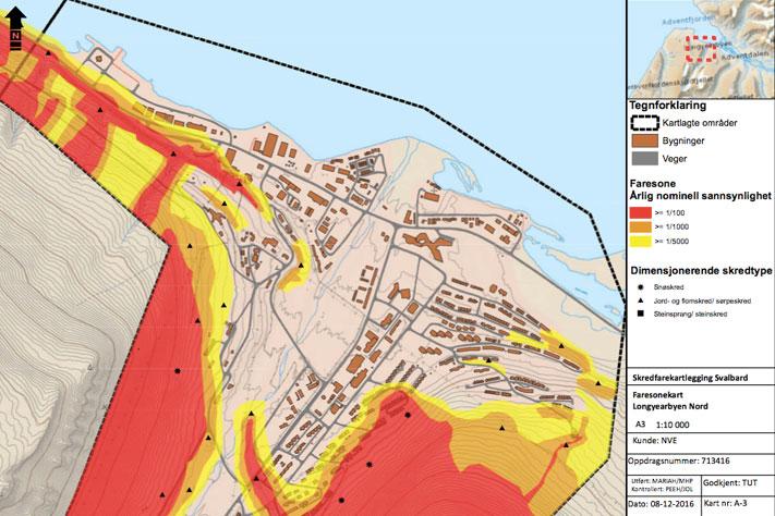 skredfare kart Geo365 | Skredfaren endelig kartlagt skredfare kart