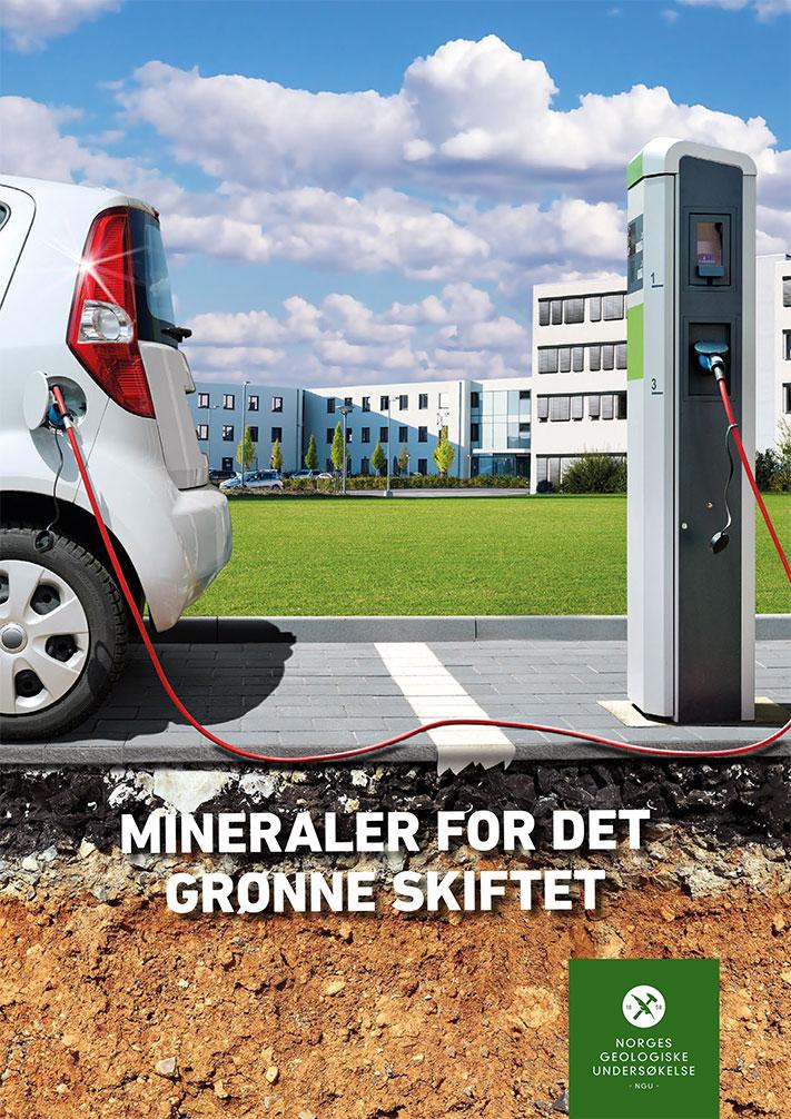 NGU har nylig utarbeidet en 28 siders rapport om mineraler for det grønne skiftet. Rapporten ble blant annet bestilt som et bakgrunnsdokument foran NHOs årskonferanse som ble avholdt i januar i år.