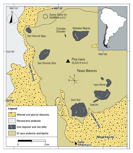 Lavas could lead miners to new iron ore deposits