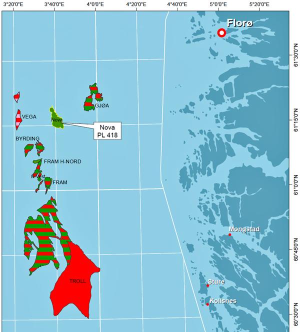 Nova i Nordsjøen